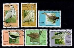 Aves Acuaticas Brasiliana. Cuba 1993 - Cuba