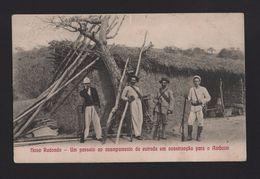 ANGOLA Year 1900 NOVO REDONDO & AMBOIM  PORTUGUESE HUNTERS PORTUGAL COLONIAL AFRICA AFRIKA AFRIQUE - Angola