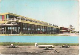 CPA-1960-69-BRON-AEROGARE Face NORD-AVIONS DC4-BE - Aerodrome