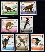 Birds Republique Populaira Du Kampuchea. 1983 - Kampuchea
