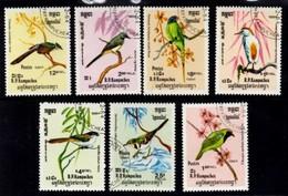 Birds R.P. Du Kampuchea. 1984 - Kampuchea