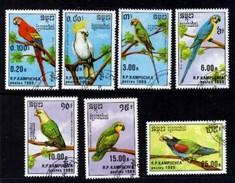 Birds R.P. Du Kampuchea 1989 - Cambodja