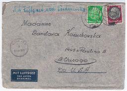 Poland Polska 1941 Dorsten, Sent To Chicago USA United States US, Germany Deutschland, General Government - Gouvernement Général