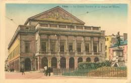 LIEGE - Le Grand Théâtre Et La Statue De Grétry - Liège