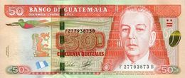 GUATEMALA 50 QUETZALES 2012 P-125a UNC  [GT125a] - Guatemala
