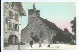 Postkaart Postkarte Sweiss Zwitserland Avenches L'Eglise 1910 - VD Waadt
