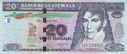 GUATEMALA 20 QUETZALES 2008 P-118a UNC [GT118a] - Guatemala