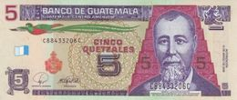 GUATEMALA 5 QUETZALES 2008 P-116a UNC [GT116a] - Guatemala
