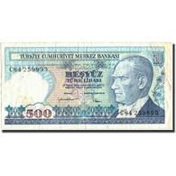 Turquie, 500 Lira, 1970, 1970, KM:195, TB+ - Turquie