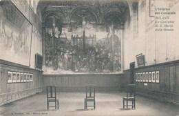 Carte De Milano  L' Interno Del Cenacolo Ex Convento Si S Maria Delle Grazie  ( Recto Verso ) - Milano (Milan)