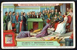 LIEBIG  - FR - Chromo N° 5 De La Série  S.1177 - Diplomates Et Ambassadeurs Célébres: Napoléon III Reçoit 1 Délégation. - Liebig