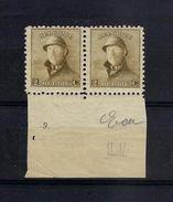 N°166 (pltn°9) MNH ** POSTFRIS ZONDER SCHARNIER SUPERBE - ....-1960