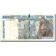 West African States, 5000 Francs, 1995, KM:713Kd, 1995, TB - West African States