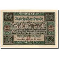 Allemagne, 10 Mark, 1920, KM:67a, 1920-02-06, SUP+ - [ 3] 1918-1933 : Weimar Republic