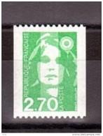 1996 - Roulette N° 3008 - Neuf ** - Marianne Du Bicentenaire - Roulettes