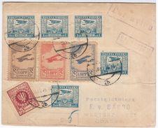 Poland Polska 1925 Gdansk, Aviation Plane - 1919-1939 Repubblica