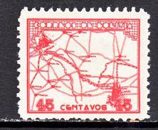 Bolivia 246     **  RAILROAD  MAP - Bolivia