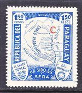 PARAGUAY  L 36  *  MAP - Paraguay