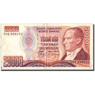 Turquie, 20,000 Lira, 1970, 1970-10-14, KM:201, TTB - Turquie