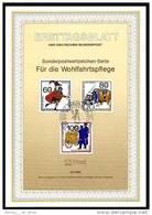 Berlin - ETB (Ersttagsblatt) 15/1989 Michel 852 / 854 - Postbeförderung, Wohlfahrt 1989 - Wert 8,00 Mi€ - Ex 1,97&e - [5] Berlijn
