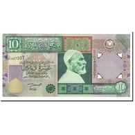 Libya, 10 Dinars, 2002, KM:66, NEUF - Libye