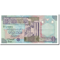 Libya, 1/2 Dinar, 2002, KM:63, NEUF - Libye