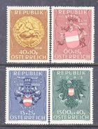 AUSTRIA  B 264-67    **   ARMS - 1945-.... 2nd Republic