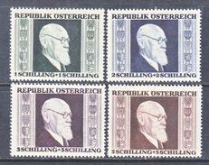 AUSTRIA  B 167-70    * - 1945-.... 2nd Republic
