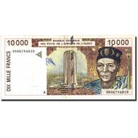 West African States, 10,000 Francs, 1996, 1996, KM:114Ad, TTB - États D'Afrique De L'Ouest