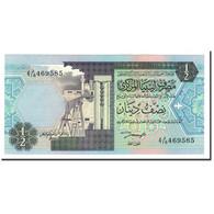 Libya, 1/2 Dinar, Undated (1991), KM:58b, NEUF - Libye