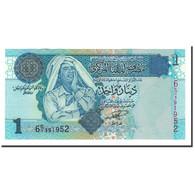 Libya, 1 Dinar, 2004, KM:68a, NEUF - Libye
