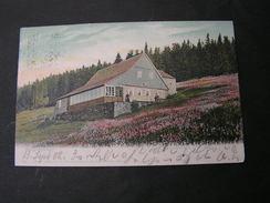 Janske Lazne , Johanisbad  Josef Bönsch Zinekerbaude 1902   Riesengebirge - Tchéquie