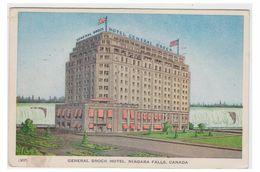 CANADA --ONTARIO -- GENERAL BROCK HOTEL -- NIAGARA FALLS -- CP 1949 - Chutes Du Niagara