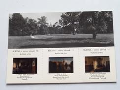 BLATNA Statni Zamek ( Zie Foto's / Dia's With 1/2 Postcard ) Anno ( Orbis CSSR 1967 ! - Diapositives