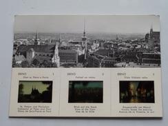BRNO ( Zie Foto's / Dia's With 1/2 Postcard ) Anno ( Orbis CSSR 1967 ! - Diapositives