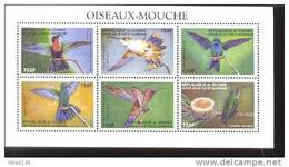 GUINEE   1586  MINT NEVER HINGED MINI SHEET OF BIRDS - Non Classés