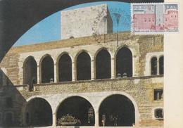 Carte  Maximum  1er  Jour     Palais  Des  Rois  De  Majorque   PERPIGNAN    1979 - Cartes-Maximum