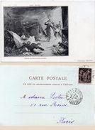 Géo WEISS - Episode Du Plateau D' Avron (1870) Incubable 1899  (99115) - Paintings