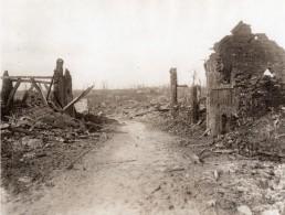 France Puisieux WWI Village En Ruines Ancienne Photo 1914-1918 - Guerre, Militaire