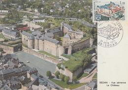 Carte Maximum  1er  Jour   Chateau  Fort  De  SEDAN   1971 - Cartes-Maximum