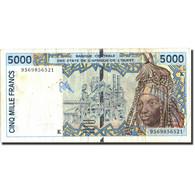 West African States, 5000 Francs, 1995, KM:713Kd, 1995, TB - États D'Afrique De L'Ouest