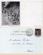 L.P. SERGENT - Ceux Qui Restent - Retraite De Moreau Sur Le Rhin (1796)  - Incunable 1899 (99130) - Paintings