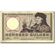 Pays-Bas, 100 Gulden, 1953, KM:88, 1953-02-02, TB - [2] 1815-… : Kingdom Of The Netherlands