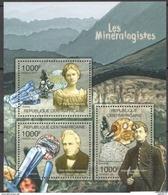 Centrafrique  2011 Minerals Minéraux Minéralogistes Florence BASCOM Otto Wilhelm Von ABICH Auguste MICHEL-LEVY - Minéraux