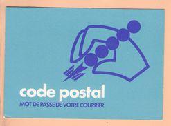 Cp Carte Postale - Pub Code Postal - Publicité