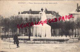 23 GUERET - PLACE BONNYAUD  HIVER 1916-1917- FONTAINE SOUS LA GLACE - EDITEUR DE NUSSAC - Guéret
