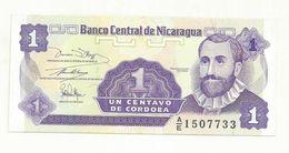 BILLET  NEUF NICARAGUA   1 CENTAVO DE CORDOBA - Nicaragua