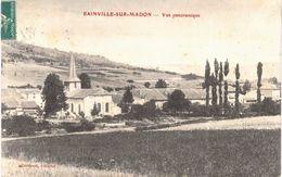 Carte Postale Ancienne De  BAINVILLE Sur MADON - Otros Municipios