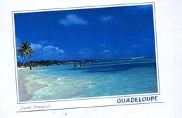 Carte Saint François Plage - Guadeloupe