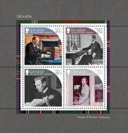 GIBRALTAR 2017 ** House Of Windsor Centenary Queen Elisabeth II. S/S - OFFICIAL ISSUE - DH9999 - Königshäuser, Adel